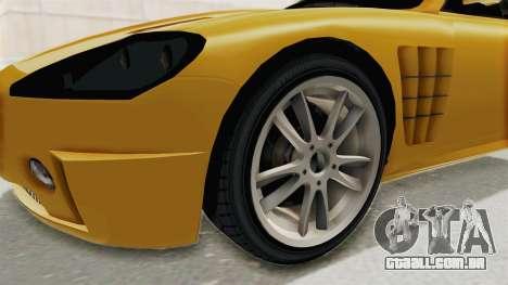 GTA 5 Ocelot F620 SA Lights para GTA San Andreas vista traseira