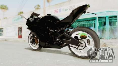 Kawasaki Ninja 250RR Mono Sport para GTA San Andreas esquerda vista