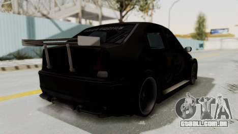 Dacia Logan Loco Tuning para GTA San Andreas vista direita