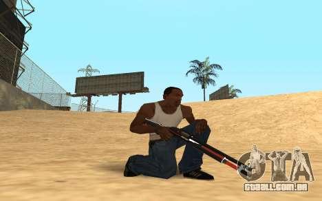 Shotgun Cyrex para GTA San Andreas segunda tela