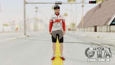 GTA 5 Cyclist 1 para GTA San Andreas segunda tela