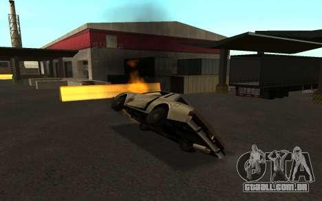 Flip máquina para GTA San Andreas quinto tela