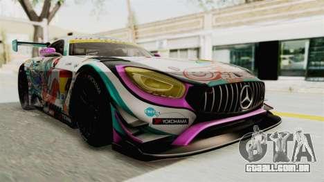 Mercedes-Benz SLS AMG GT3 2016 Goodsmile Racing para GTA San Andreas