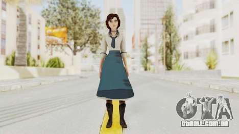 Bioshock Infinite Elizabeth Student para GTA San Andreas segunda tela