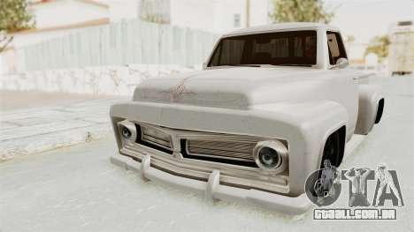 GTA 5 Slamvan Stock para GTA San Andreas