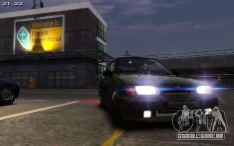 VAZ 2113 Final para GTA 4 vista de volta