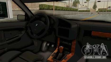 BMW 325i E36 Coupe para GTA San Andreas vista interior