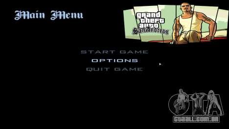 Loadscreens de San Andreas Deluxe para GTA San Andreas segunda tela