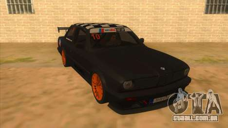 BMW 325i Turbo para GTA San Andreas vista traseira