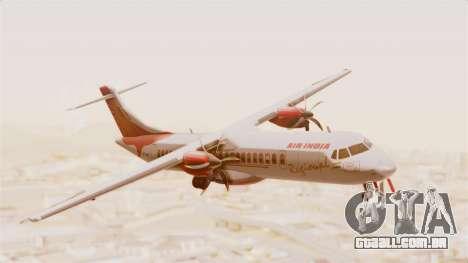 ATR 72-600 Air India Regional para GTA San Andreas traseira esquerda vista