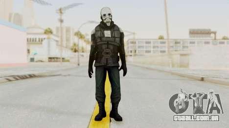 Half Life 2 - Metrocop Remake para GTA San Andreas segunda tela