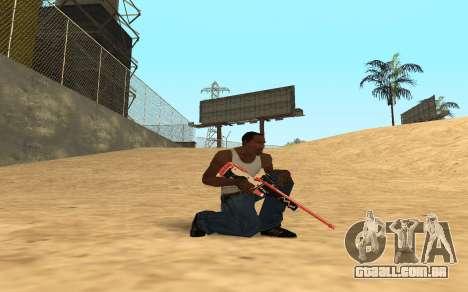 Rifle Cyrex para GTA San Andreas segunda tela