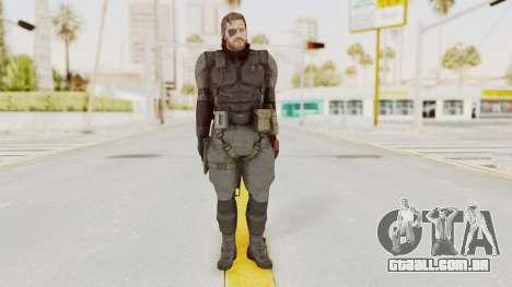 MGSV Phantom Pain Venom Snake Sneaking Suit para GTA San Andreas segunda tela