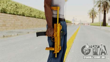 MP7A1 Gold para GTA San Andreas