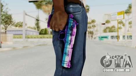 Vice Desert Eagle para GTA San Andreas terceira tela