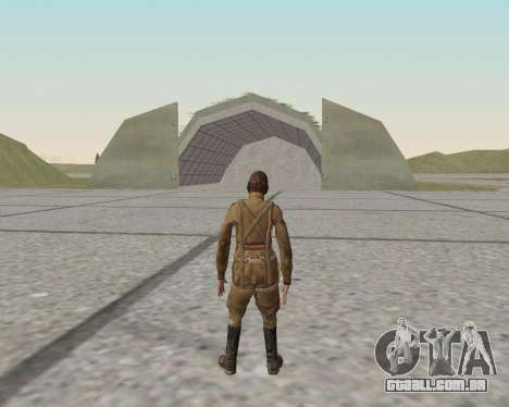 Pak combatentes do exército vermelho para GTA San Andreas décima primeira imagem de tela