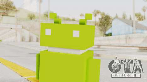 Crossy Road - Android Robot para GTA San Andreas
