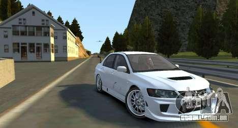 Hill Monument Pista para GTA 4 por diante tela