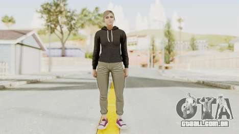 GTA 5 Online Female Skin 2 para GTA San Andreas segunda tela