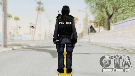 Albania Officer para GTA San Andreas terceira tela