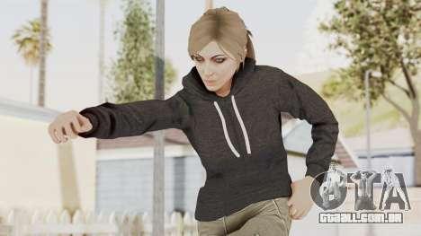 GTA 5 Online Female Skin 2 para GTA San Andreas