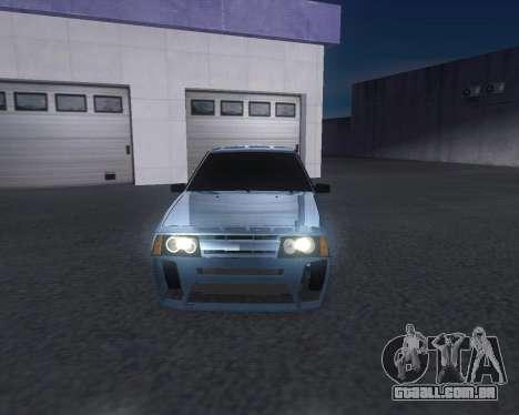VAZ 2108 para GTA San Andreas esquerda vista