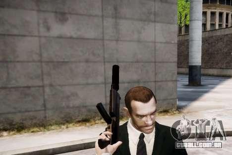 O silenciador de arma para GTA 4 terceira tela
