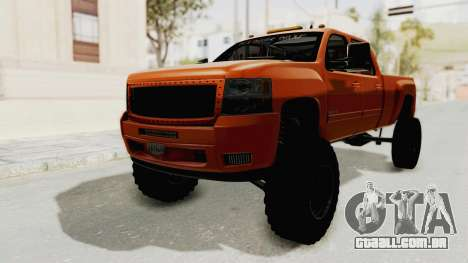 Chevrolet Silverado Long Bed para GTA San Andreas