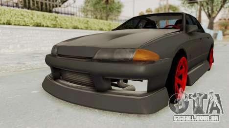 Nissan Skyline R32 4 Door Drift para GTA San Andreas traseira esquerda vista