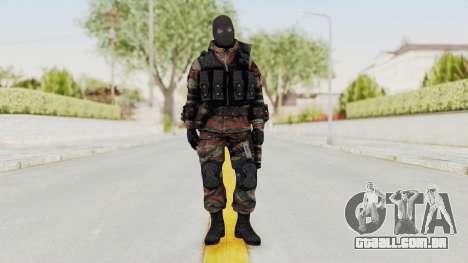 Battery Online Russian Soldier 5 v2 para GTA San Andreas segunda tela