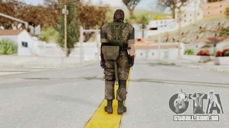 MGSV The Phantom Pain Venom Snake Woodland para GTA San Andreas terceira tela