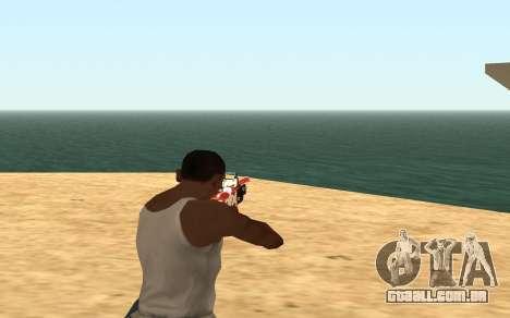 Rifle Cyrex para GTA San Andreas quinto tela