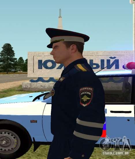 O sargento DPS para GTA San Andreas terceira tela