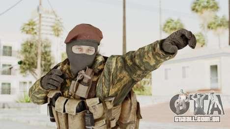 COD Black Ops Russian Spetznaz v4 para GTA San Andreas