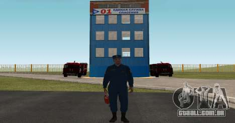 O Coronel EMERCOM da Rússia para GTA San Andreas segunda tela