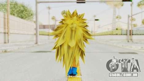 Dragon Ball Xenoverse Gohan Teen DBS SSJ3 v2 para GTA San Andreas terceira tela