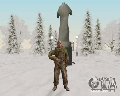 Pak combatentes do exército vermelho para GTA San Andreas oitavo tela