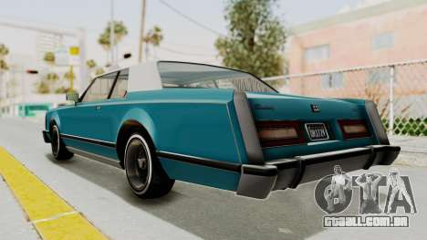 GTA 5 Dundreary Virgo Classic Custom v3 IVF para GTA San Andreas esquerda vista
