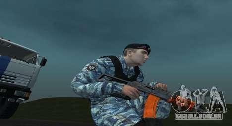 Um Motim Policial para GTA San Andreas segunda tela