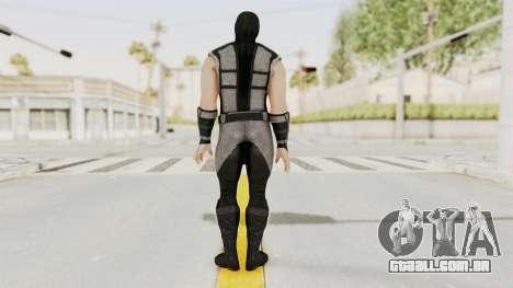 Mortal Kombat X Klassic Human Smoke para GTA San Andreas terceira tela