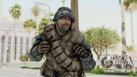 COD BO Russian Spetznas Flak MP v2 para GTA San Andreas