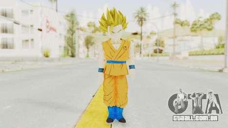 Dragon Ball Xenoverse Gohan Teen DBS SSJ2 v2 para GTA San Andreas segunda tela
