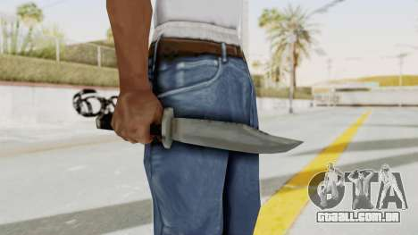 Liberty City Stories - Knife para GTA San Andreas terceira tela