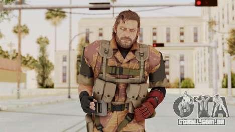 MGSV The Phantom Pain Venom Snake No Eyepatch v5 para GTA San Andreas