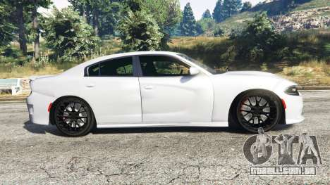 Dodge Charger SRT Hellcat 2015 v1.3 para GTA 5