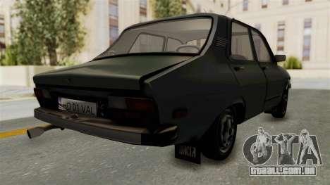 Dacia 1310 Funingi Taraneasca para GTA San Andreas traseira esquerda vista