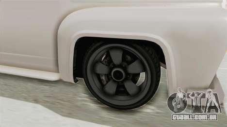 GTA 5 Slamvan Race para GTA San Andreas vista traseira