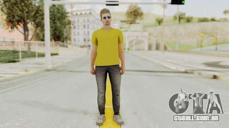 Skin from GTA 5 Online para GTA San Andreas segunda tela