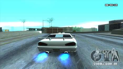 ENB Double FPS & for LowPC para GTA San Andreas quinto tela