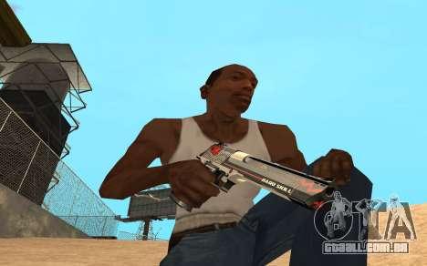 Desert Eagle Cyrex para GTA San Andreas terceira tela